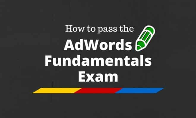 Adwords Fundamental Answers